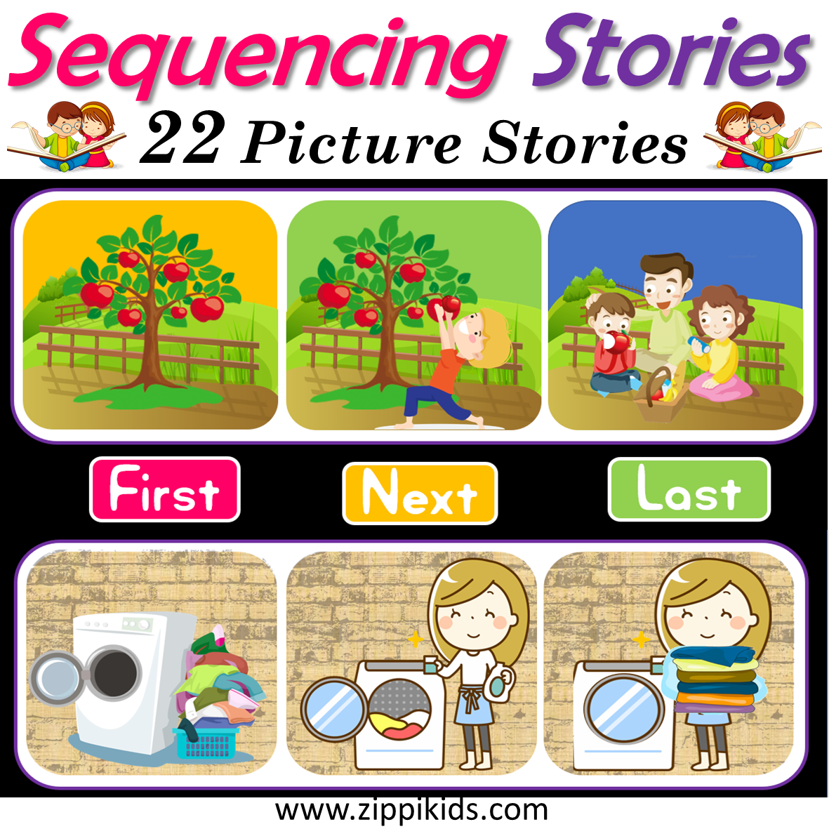 Sequencing Stories With Pictures Zippi Kids Teacher Resources
